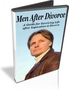 Ebook cover: Men After Divorce
