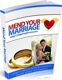 Ebook cover: Mend Your Marriage