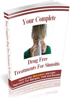 Ebook cover: Your Complete Drug-Free Treatments For Sinusitis