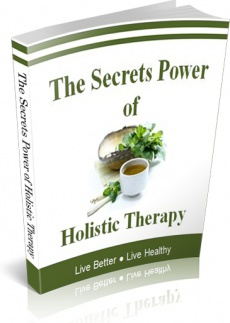 Ebook cover: The Secrets Power of Holistic Therapy