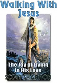 Ebook cover: Walking With Jesus - The Joy Of Living In His Love