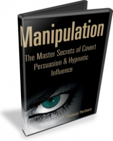 Ebook cover: Manipulation: The Master Secrets of Covert Persuasion & Hypnotic Influencen
