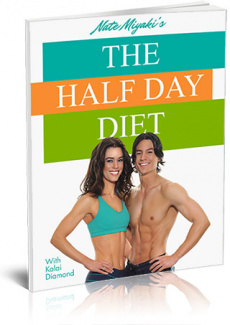 Ebook cover: The Half Day Diet