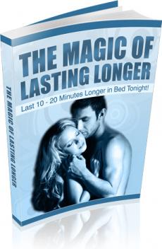 Ebook cover: The Magic Of Lasting Longer