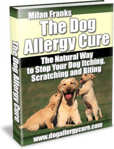 Ebook cover: Dog Allergy Cure