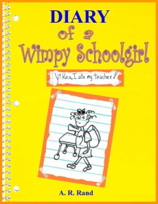 Ebook cover: Diary of a Wimpy Schoolgirl