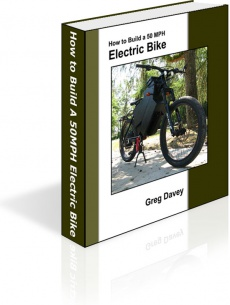 Ebook cover: How to Build a 50MPH Electric Bike