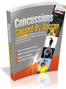 Ebook cover: Concussions Caused by Soccer