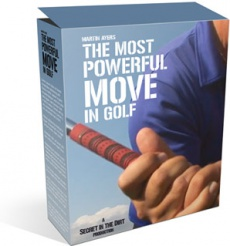 Ebook cover: Most Powerful Move in Golf