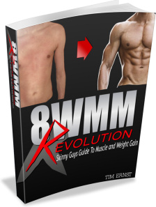 Ebook cover: 8 Week Muscle Make Over