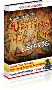 Ebook cover: A Guide For Writing Hip Hop Lyrics