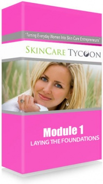 Ebook cover: Skin Care Tycoon