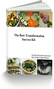 Ebook cover: The Raw Vegan Instruction Manual