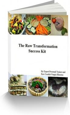 Ebook cover: The Raw Vegan Instruction Manual