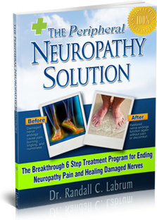 Ebook cover: The Neuropathy Solution