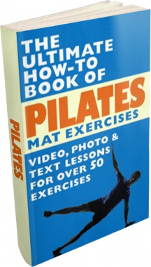 Ebook cover: The Ultimate How-To Book of Pilates Mat Exercises