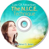 Ebook cover: Law Of Attraction: NICE Technique