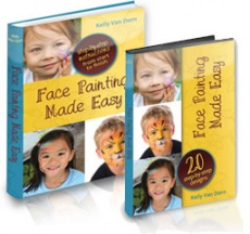 Ebook cover: Face Painting Designs