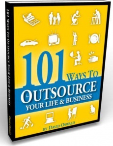 Ebook cover: 101 Ways to Outsource Your Life & Business