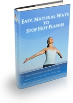 Ebook cover: Easy, Natural Ways to Stop Hot Flashes