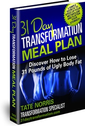 Ebook cover: 31 Day Transformation Meal Plan