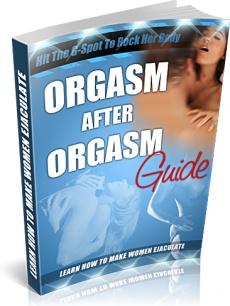 Ebook cover: Orgasm After Orgasm