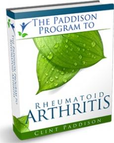 Ebook cover: Paddison Program for Rheumatoid Arthritis