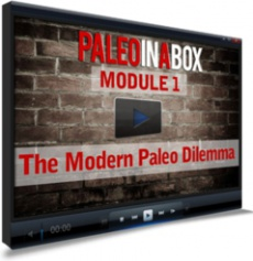 Ebook cover: Paleo In A Box: Complete Crossfit Nutrition Training System