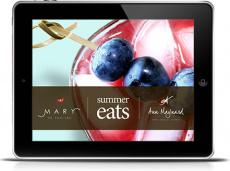 Ebook cover: Summer Eats - Paleo Recipes & Clean Cocktails