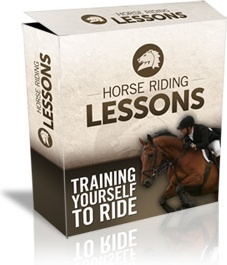 Ebook cover: Horse Riding Lessons