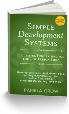 Ebook cover: Simple Development Systems Fundraising