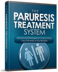 Ebook cover: The Paruresis Treatment System