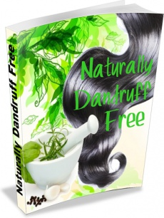 Ebook cover: Naturally Dandruff Free