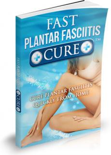 Ebook cover: Fast Plantar Fasciitis Cure