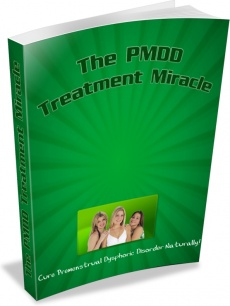Ebook cover: The PMDD Treatment Miracle