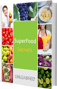 Ebook cover: Superfood Secrets
