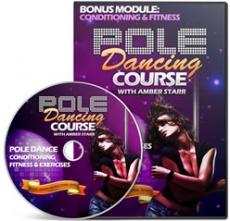 Ebook cover: Pole Dancing Course