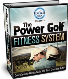 Ebook cover: The Power Golf Fitness System
