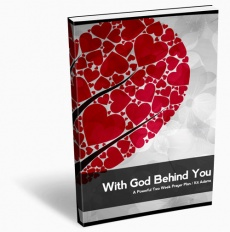 Ebook cover: With God Behind You