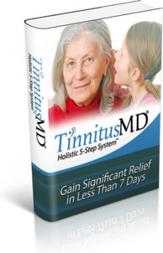 Ebook cover: Tinnitus MD 5-Step Holistic System
