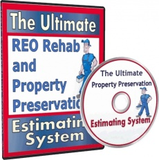 Ebook cover: The Ultimate Property Preservation Estimating System