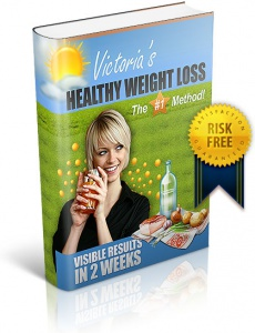 Ebook cover: Healthy Weight Loss Method