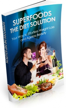 Ebook cover: SuperFoods the Diet Solution