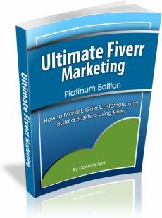 Ebook cover: Ultimate Fiverr Marketing