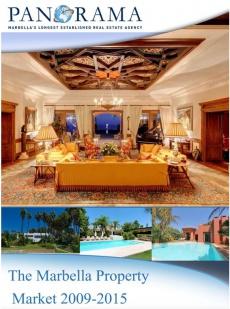 Ebook cover: The Marbella Property Market 2009-2015