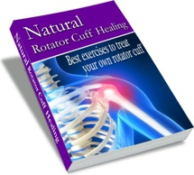 Ebook cover: Natural Rotator Cuff Injury Healing Guide