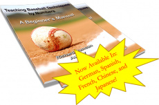 Ebook cover: Teaching Baseball by Numbers