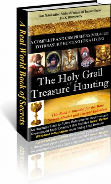 Ebook cover: The Holy Grail of Treasure Hunting