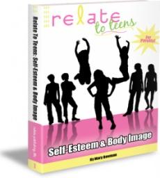 Ebook cover: Relate To Teens: Self-Esteem & Body Image