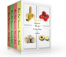 Ebook cover: Raw Food Gourmet Recipes For Busy People!